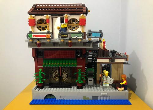 Ninjago City MOC expansion | by marc-entrega