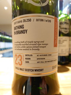 SMWS 35.250 - Bathing in brandy