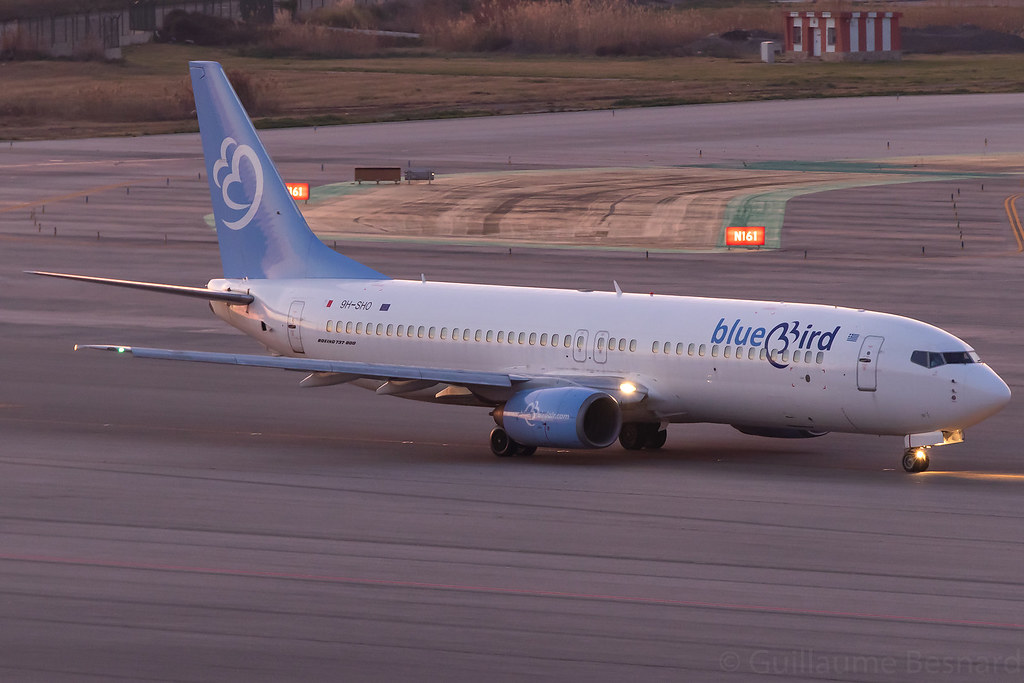 Boeing 737-800 BlueBird Airways 9H-SHO cn 28824/180