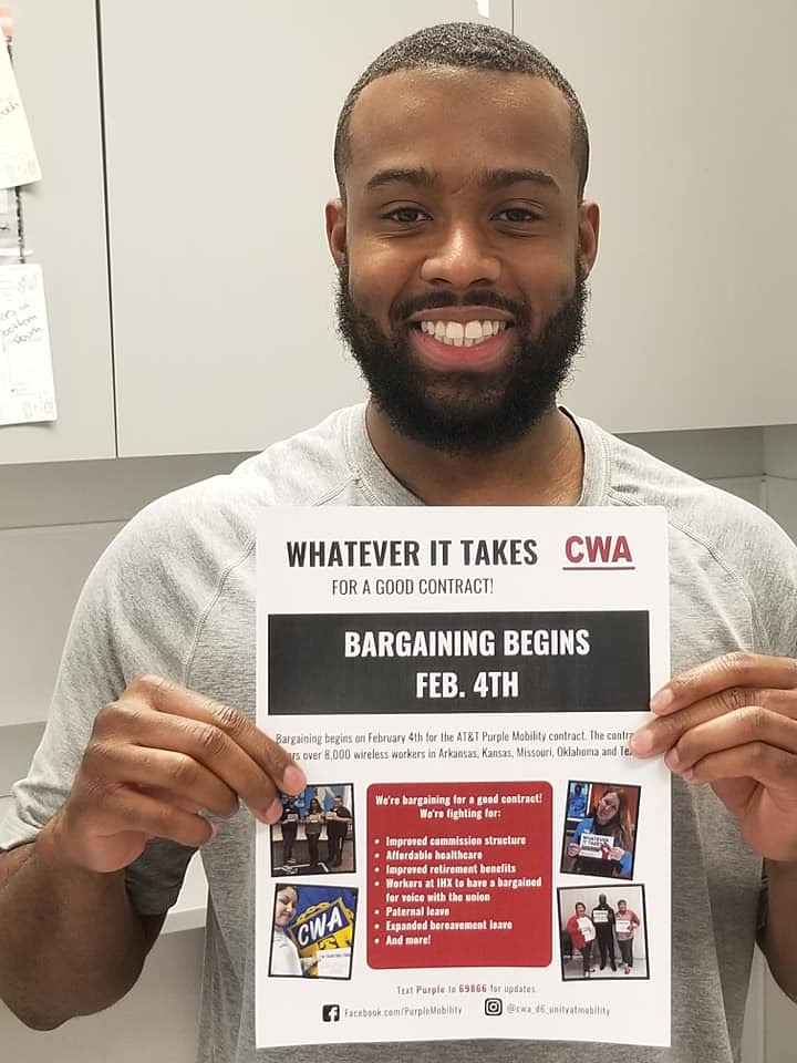 CWA District 6 AT&T Mobility Bargaining Begins