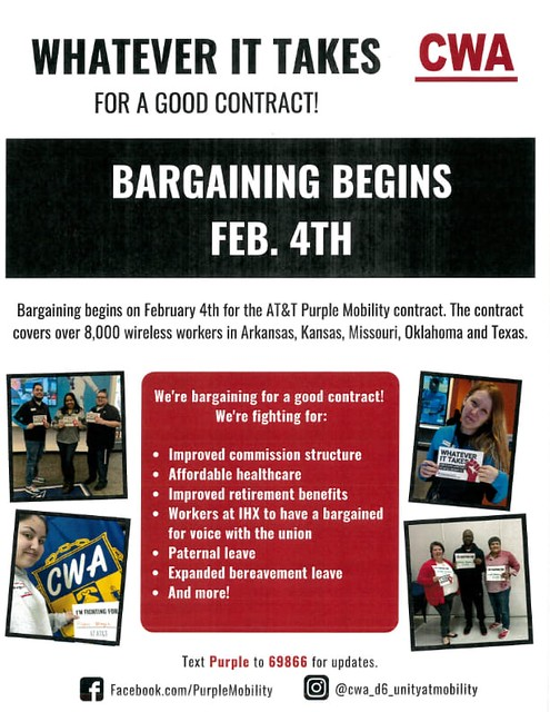 CWA Local 13000 Stands with District 6