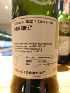 SMWS 108.22 - Cold cure?