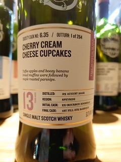SMWS 6.35 - Cherry cream cheese cupcakes