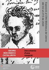 Exposició: Georg Büchner a Catalunya. Documents d'una recepció