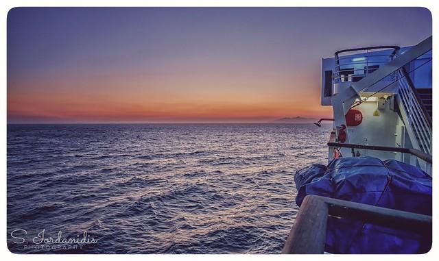 Greek Summer Sunset