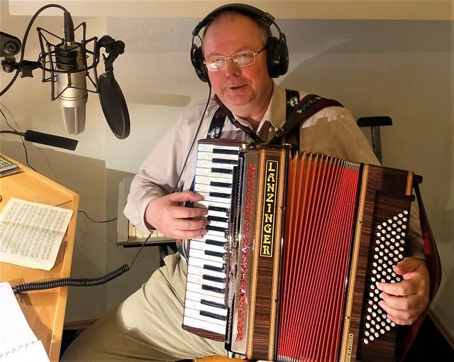 Studio in Lorch, Germany - Recording Accordion Music