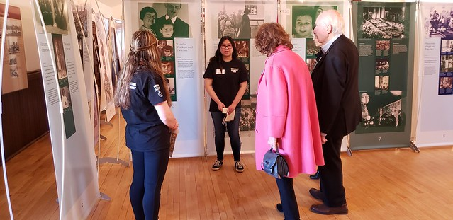 Visit to Anne Frank Exhibit at McKay Avenue School
