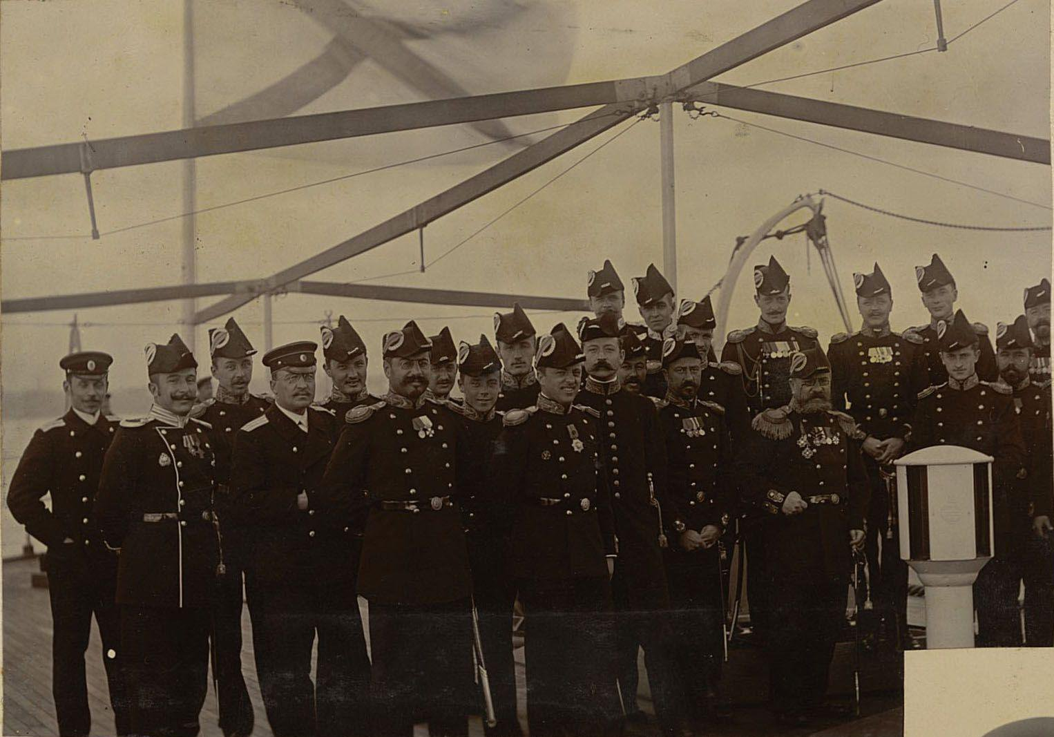 1901-1902. «Поход эскадренного броненосца «Пересвет» из Кронштадта на Дальний Восток». Часть 2
