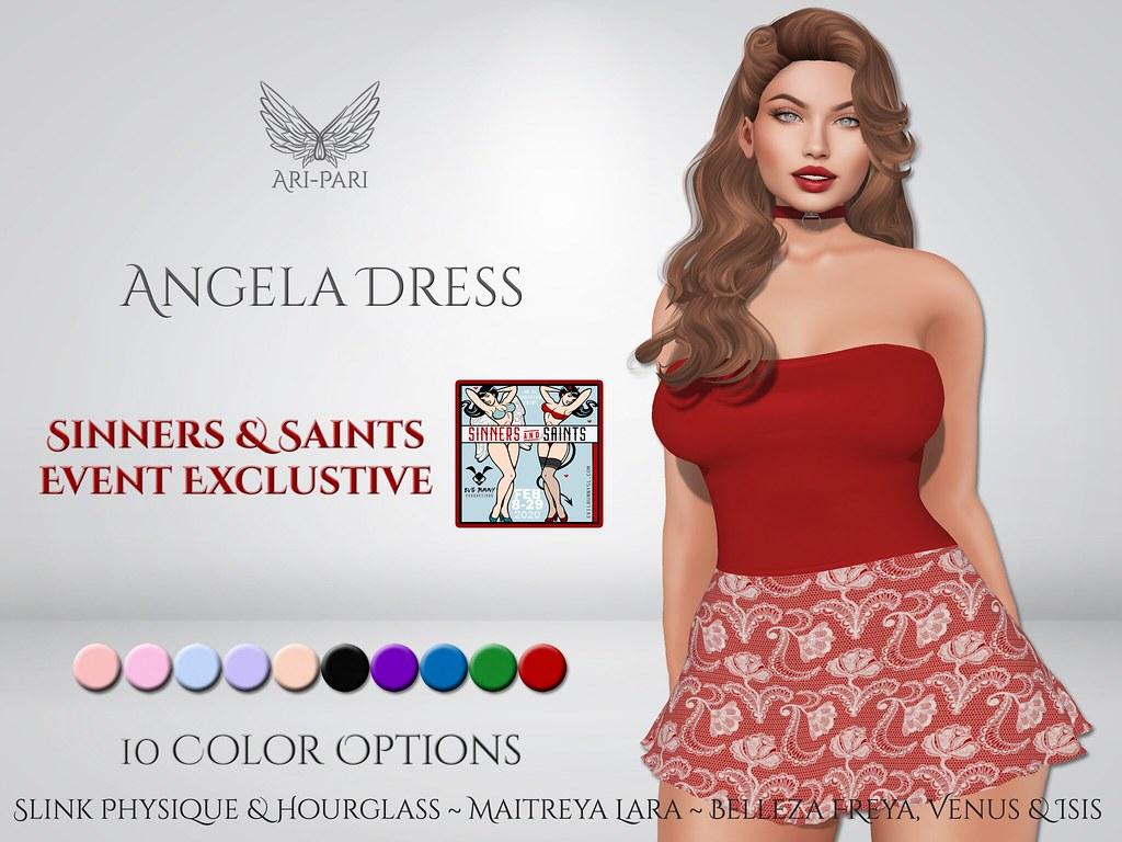 [Ari-Pari] Angela Dress