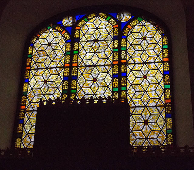 Stained glass, St Anne's