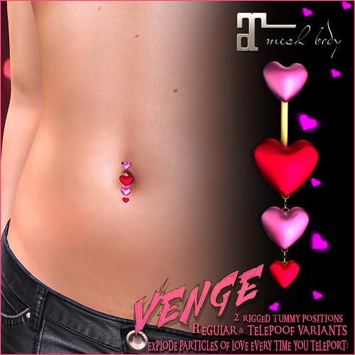 VENGE - 2020 Valentine's Shop & Hop Gift Advert