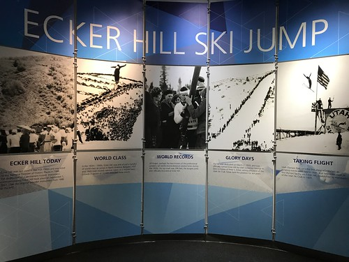 Ecker Hill ski Jump Exhibit. From History Comes Alive in Park City