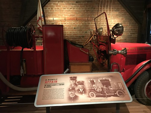 Park City Fire Department Exhibit. From History Comes Alive in Park City