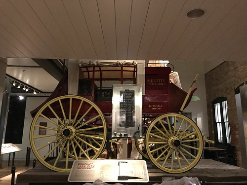 Park City Museum Kimball Stagecoach. From History Comes Alive in Park City