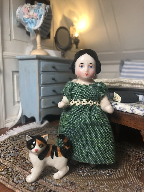 Charlotte's new dress