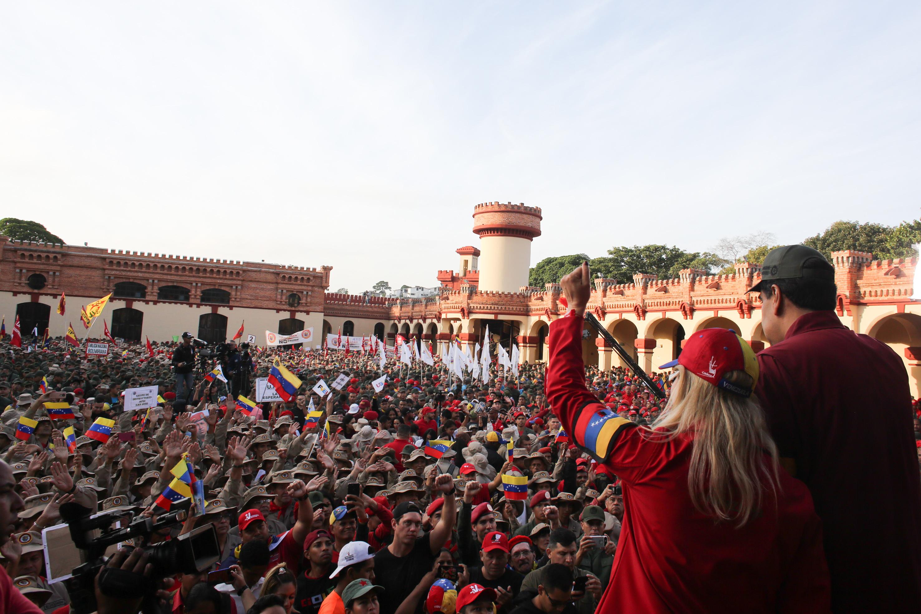 Presidente Maduro conmemora 28° aniversario de la rebelión del 4F