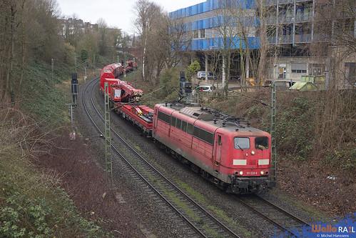 151 028 . DB . Aachen Schanz . 03.02.20.