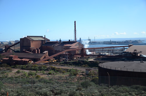 DSC_0839 Whyalla Steelworks, from Hummock Hill Lookout, Whyalla, South Australia | by JohnJennings995