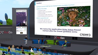 OSCC19 - Video Screenshot - EchoVoice for OpenSimulator