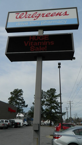 walgreens sign ahoskie nc northcarolina