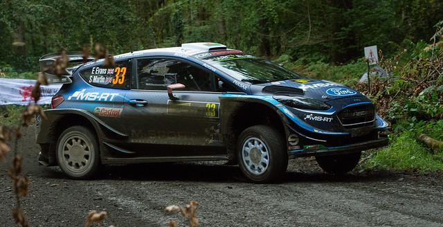 Ford Fiesta WRC - Evans