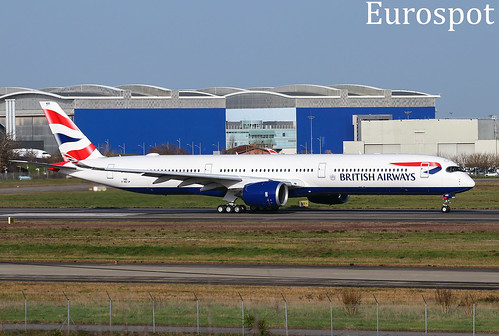 F-WZGP Airbus A350-1000 British Airways | by @Eurospot 10.000.000 views
