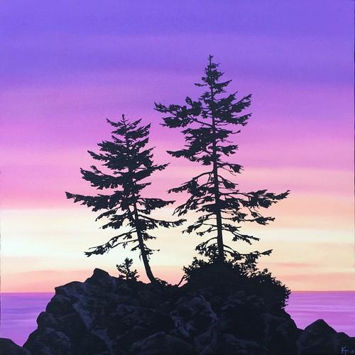 Trees on the Rocks