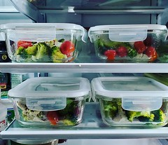 Meal preppin'.