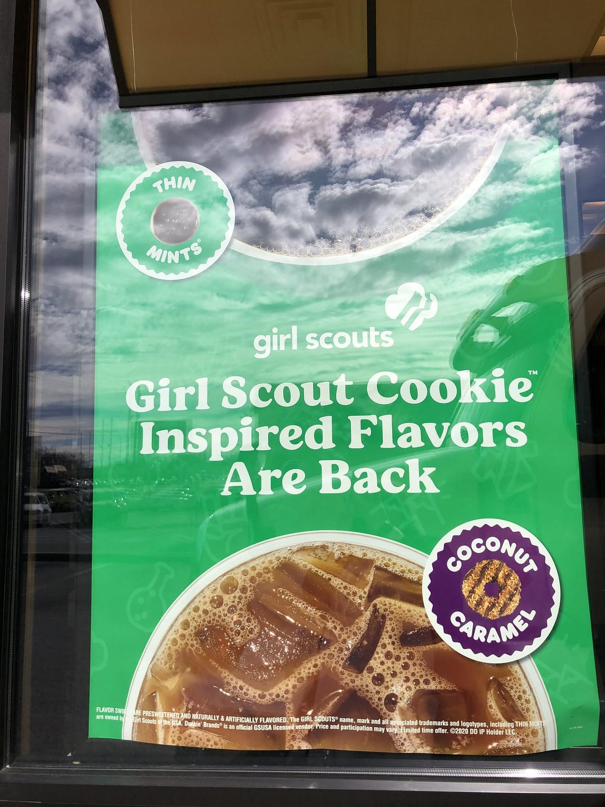 Dunkin - Girl Scouts