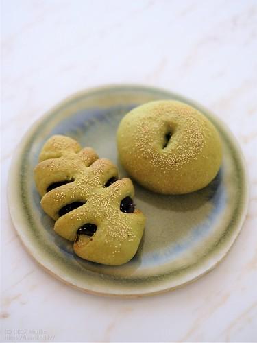 花茶酵母の抹茶あんパン 20200204-DSCT9501 (2)