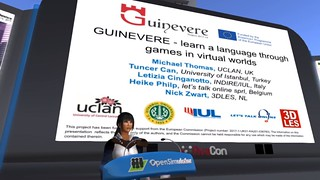 OSCC19 - Video Screenshot - GUINEVERE - Learn a Language Through Games in Virtual Worlds