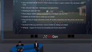 OSCC19 - Video Screenshot - Into The Future - Web Based Virtual Worlds
