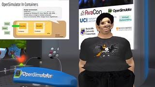 OSCC19 - Video Screenshot - Dockerizing OpenSimulator