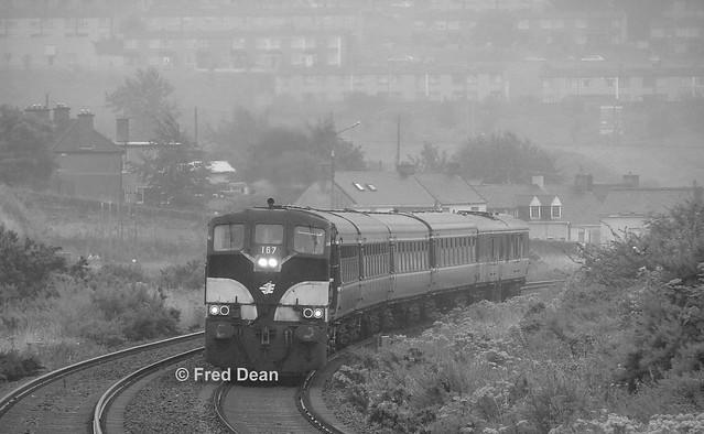 Irish Rail 167 at Kilbarry.