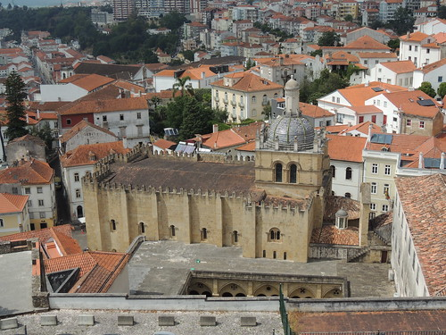 sévelha oldcathedral coimbra portugal building architecture church cathedral romanesque