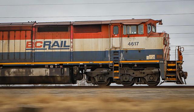 BC Rail On IC Main