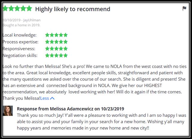 Melissa Adamcewicz Review 2