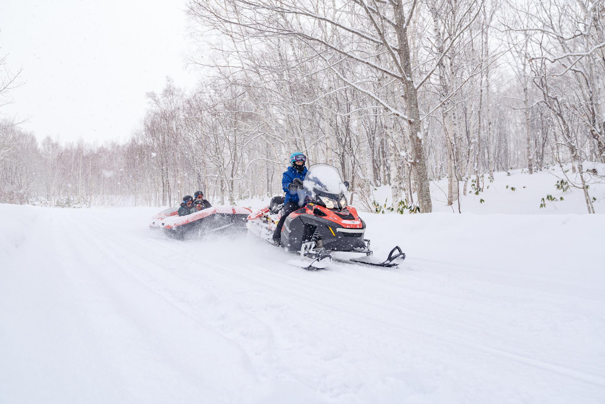 Hanazono Snow Rafting