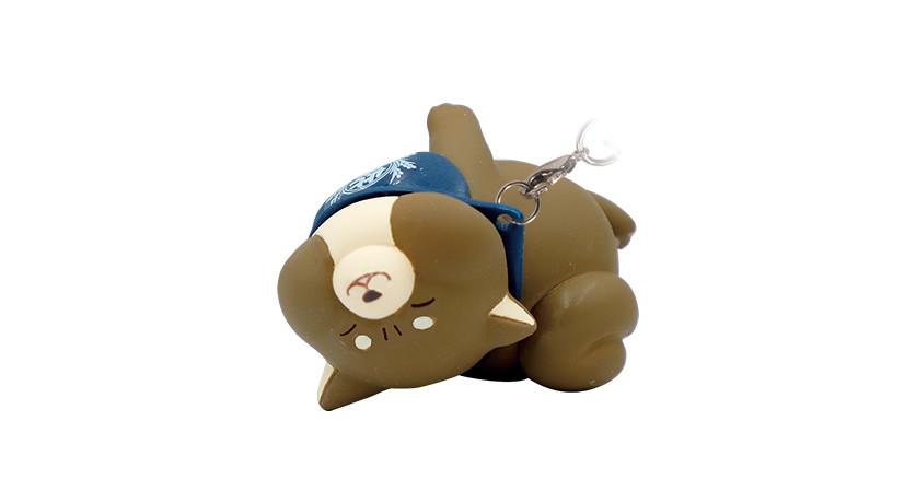 擠成一團的超萌肉肉讓人難以招架!Qualia「忠犬麻糬柴犬 ×拒否犬」轉蛋(忠犬もちしば™×拒否犬ストラップ)全八款