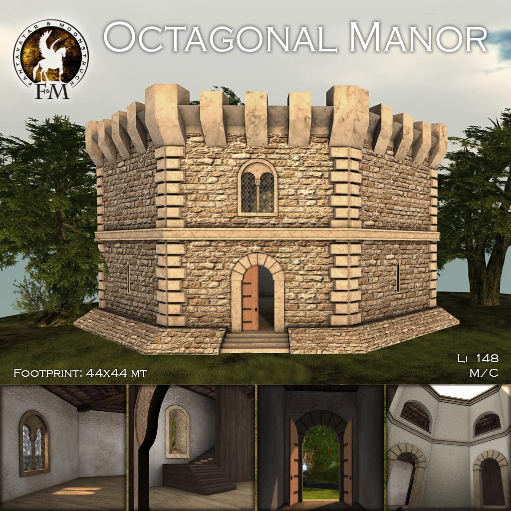 F&M * Octagonal Manor