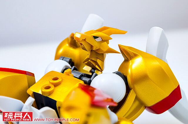 以聖劍之力進化,強大的金色魔神誕生! NXEDGE STYLE《魔神英雄傳2》第二彈『龍星丸』開箱報告