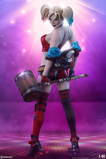 Sideshow Collectibles Premium Format Figure 系列 DC【哈莉·奎茵:地獄滑輪】Harley Quinn: Hell on Wheels 1/4 比例全身雕像 普通版/EX版