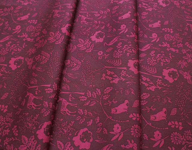 【METERS / 1m単位】Art Gallery Fabrics Foresta Fusion Flora and Fauna Foresta