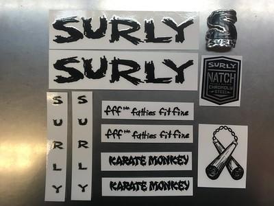 SURLY Decal Karate Monkey BK