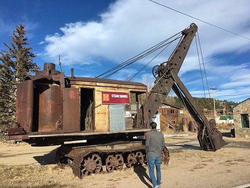 1923 Panama Canal Steam Shovels, Bucyrus Model 50-B, Nederland, CO | by cpsnklcx81