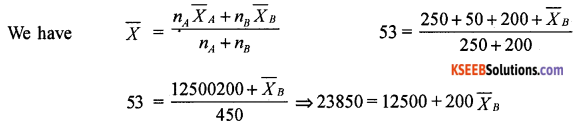 1st PUC Basic Maths Question Bank Chapter 10 Averages - 3