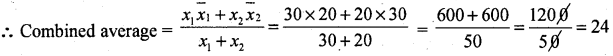 1st PUC Basic Maths Question Bank Chapter 10 Averages - 2