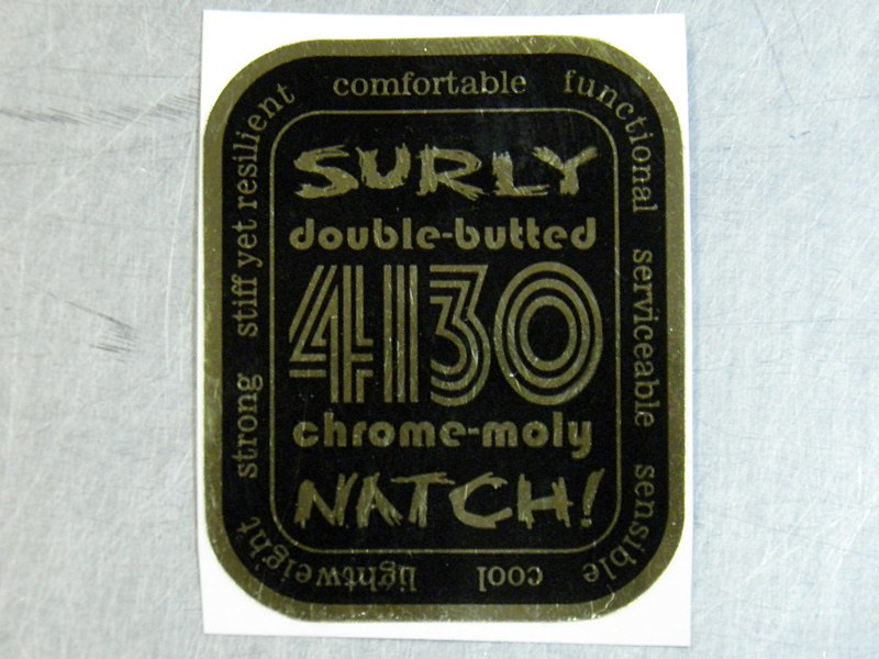 SURLY Decal natch