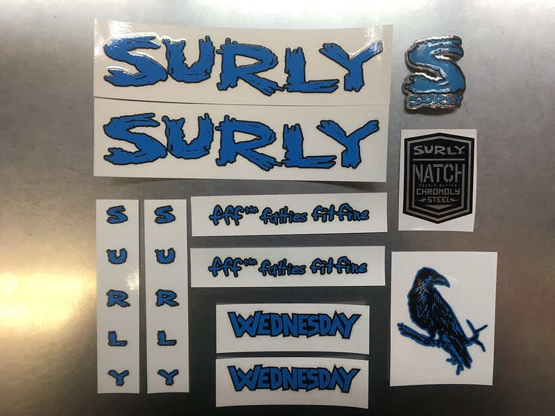SURLY Decal Ice Wednesday