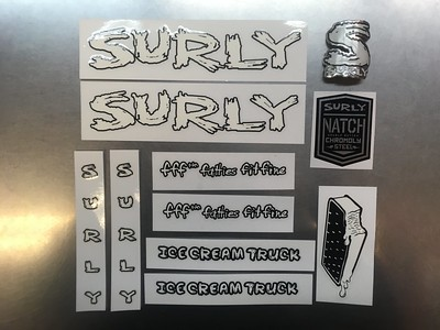 SURLY Decal Ice Cream Truck WH